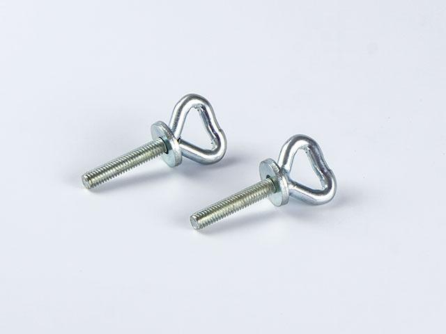 Herzaugenschraube aus Stahl